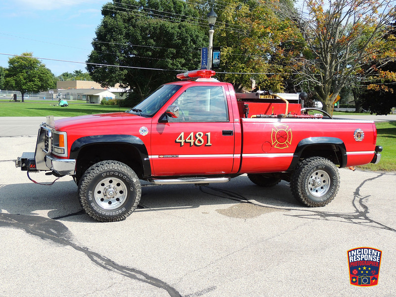 Merton Fire Dept. Brush Truck 4481