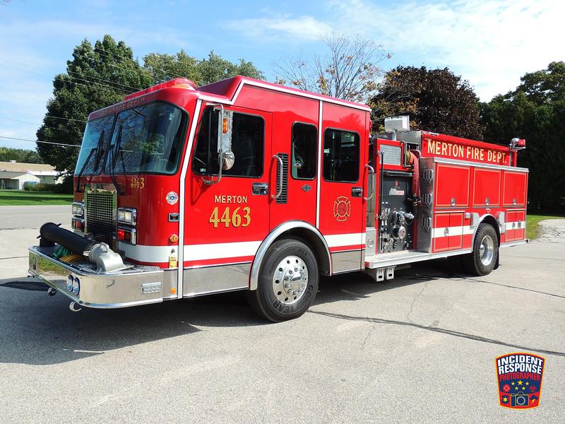 Merton Fire Dept. Engine 4463