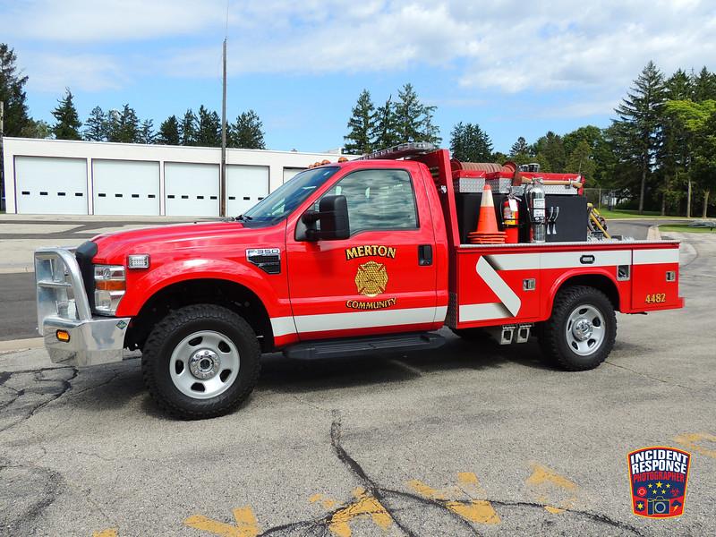 Merton Fire Dept. Brush Truck 4482