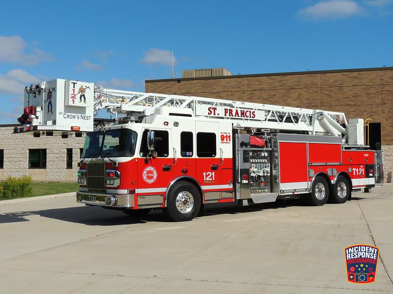 St. Francis Fire Dept. Ladder Truck 121
