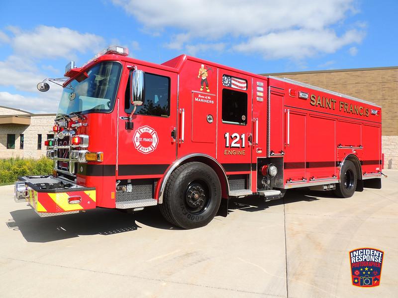 St. Francis Fire Dept. Engine 121