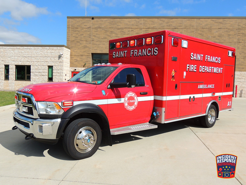 St. Francis Fire Dept. Ambulance 121