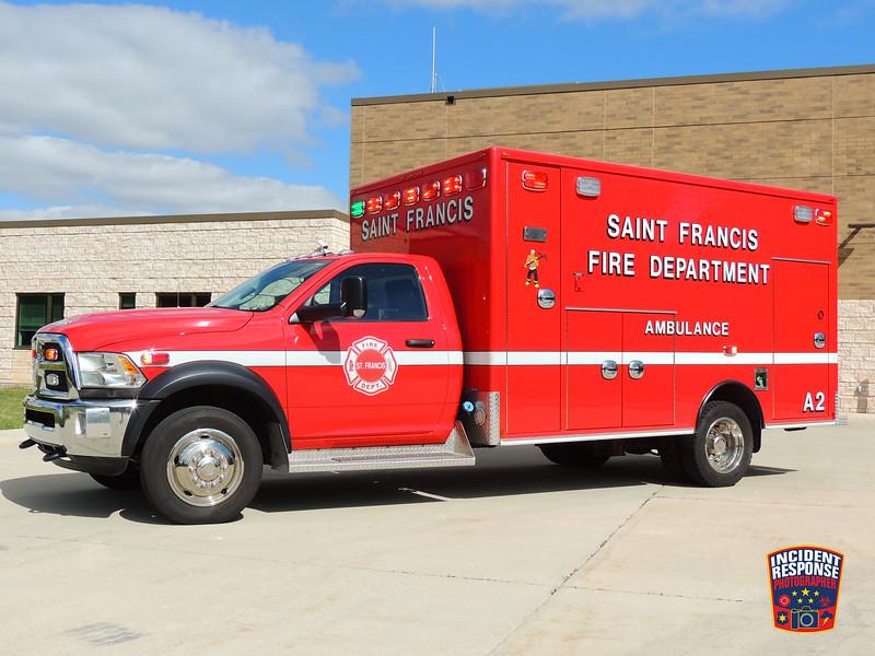 St. Francis Fire Dept. Ambulance 122