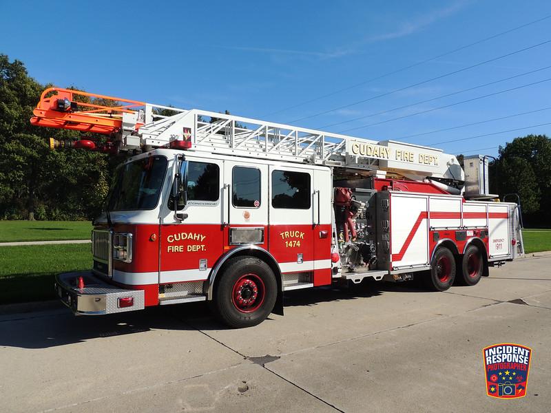 Cudahy Fire Dept. Ladder Truck 1474