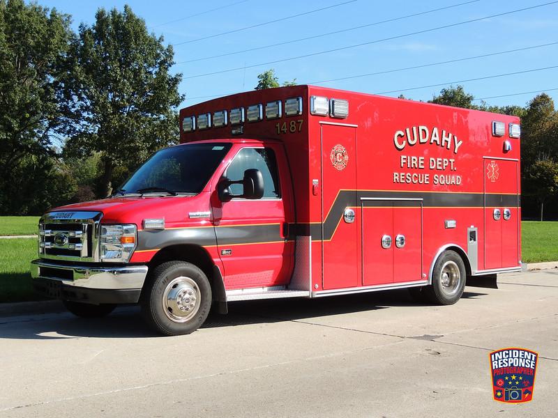 Cudahy Fire Dept. Ambulance 1487