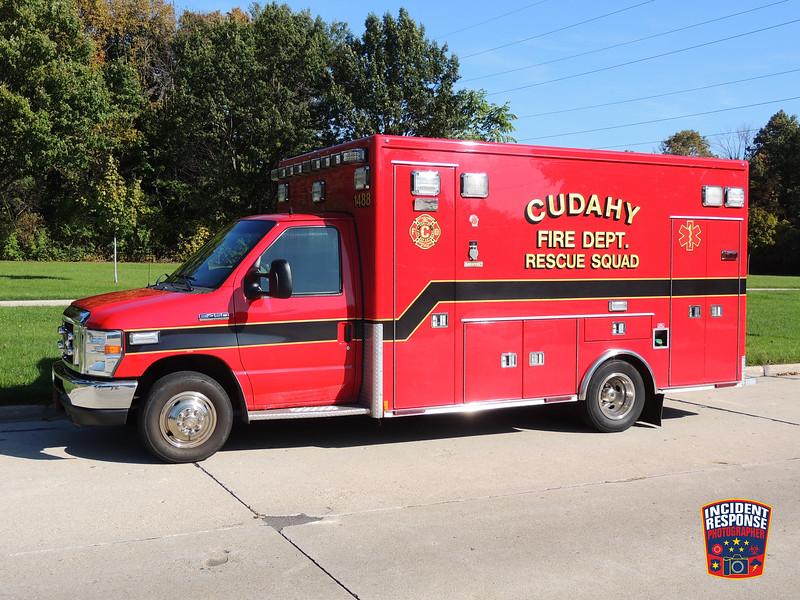 Cudahy Fire Dept. Ambulance 1488