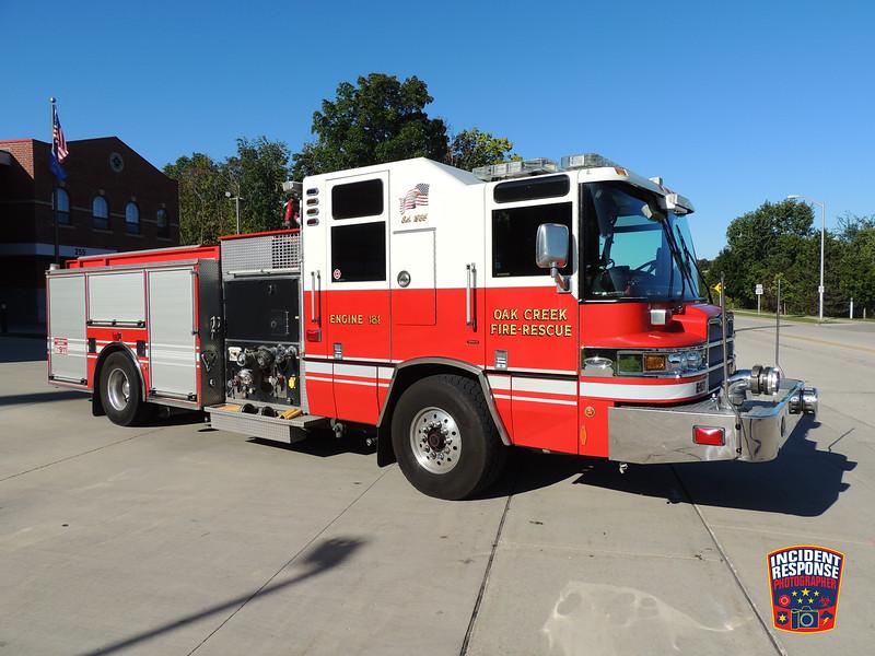 Oak Creek Fire Dept. Engine 181