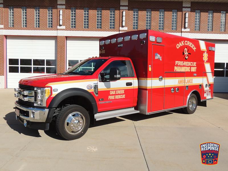 Oak Creek Fire Dept. Med 182
