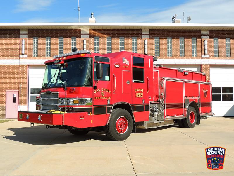 Oak Creek Fire Dept. Engine 182