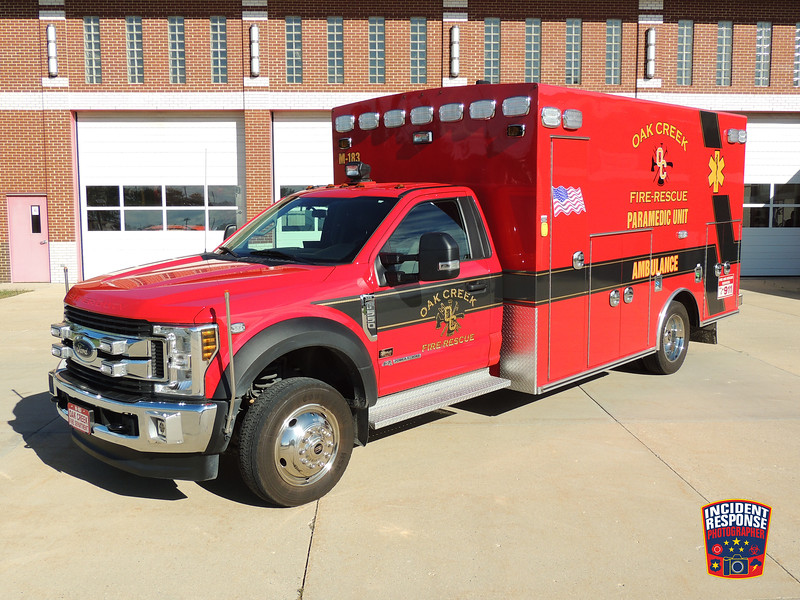 Oak Creek Fire Dept. Med 183
