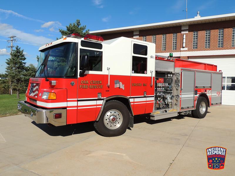 Oak Creek Fire Dept. Engine 184