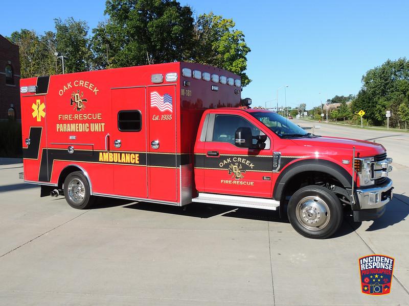 Oak Creek Fire Dept. Med 181