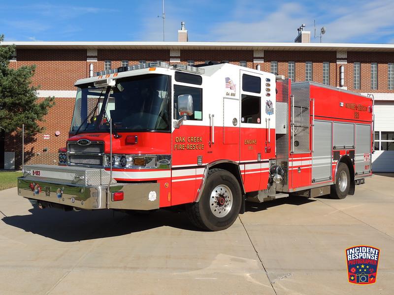 Oak Creek Fire Dept. Engine 183