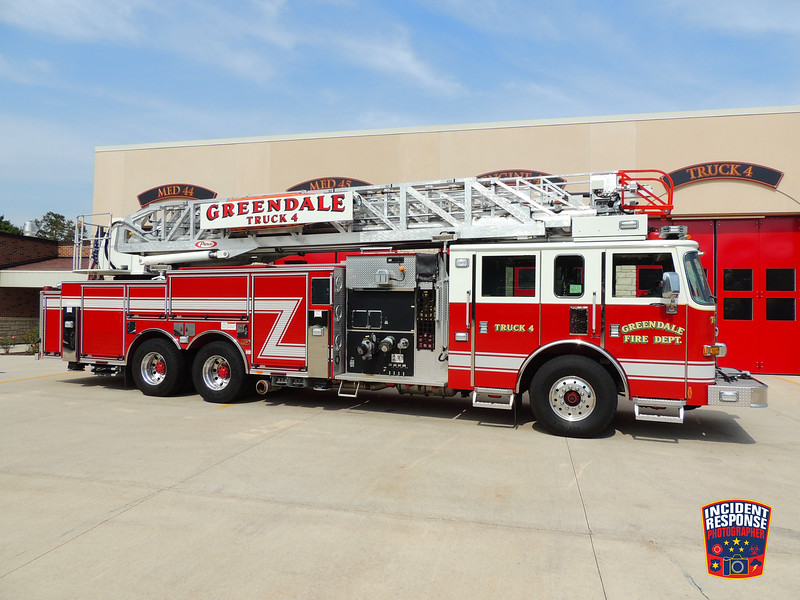 Greendale Fire Dept. Ladder Truck 4