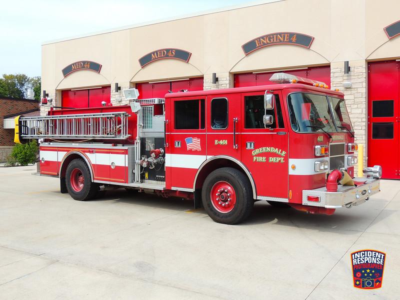 Greendale Fire Dept. Engine 401 (reserve)