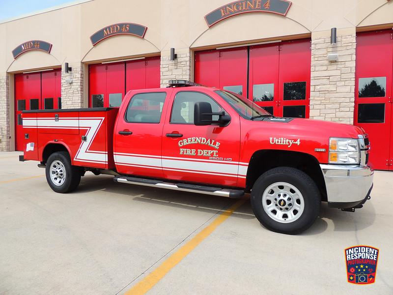 Greendale Fire Dept. Utility Truck 4