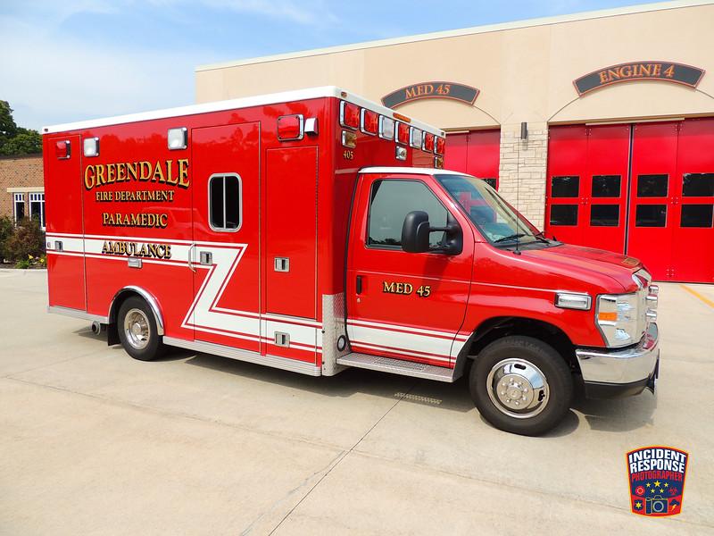 Greendale Fire Dept. Med 45