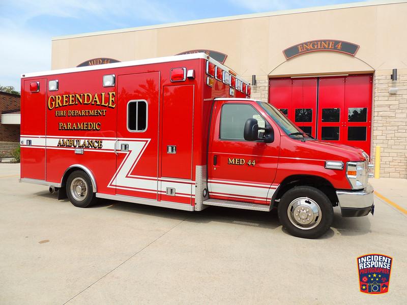 Greendale Fire Dept. Med 44