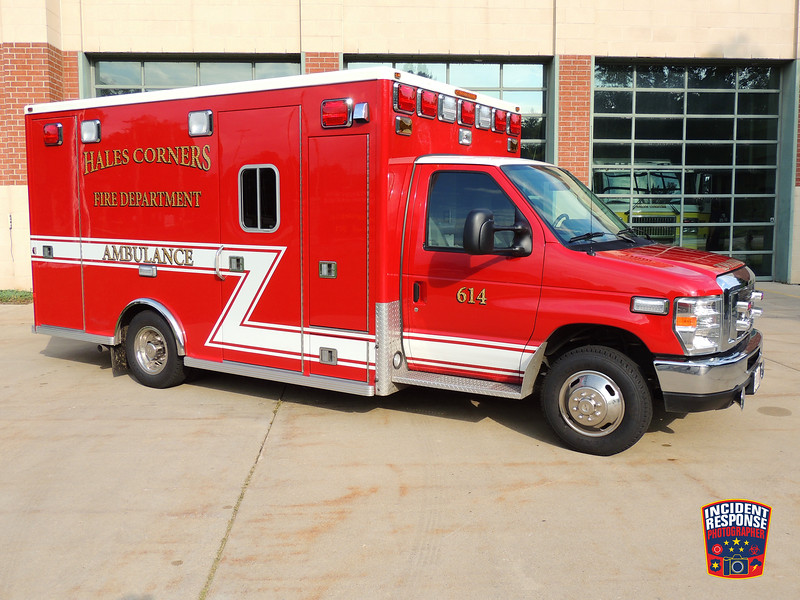 Hales Corners Fire Dept. Ambulance 614