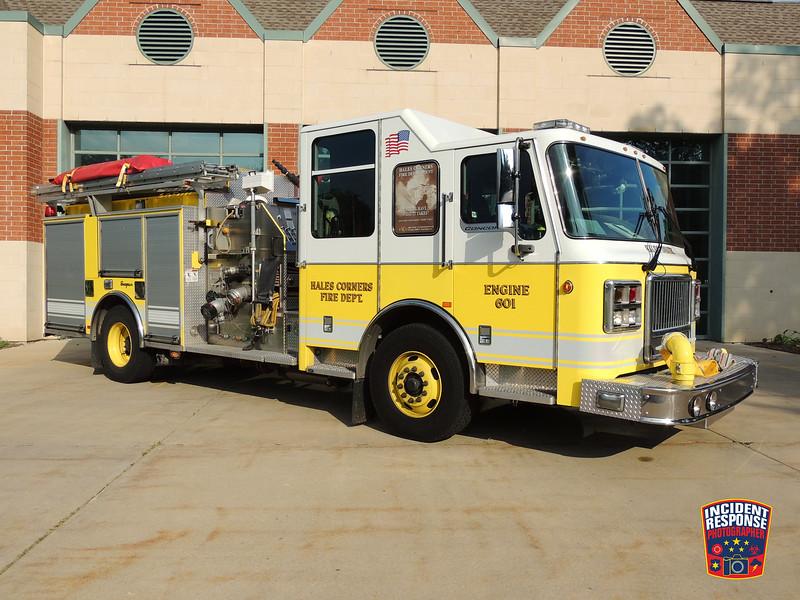 Hales Corners Fire Dept. Engine 601
