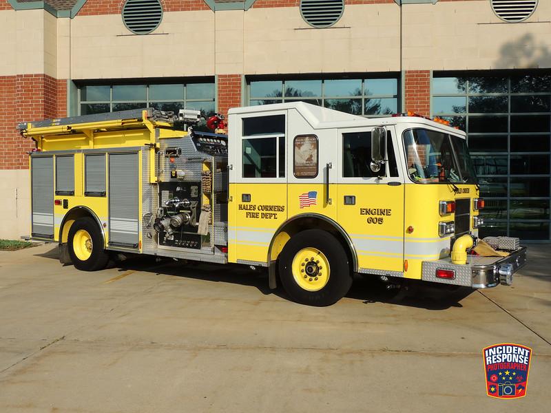 Hales Corners Fire Dept. Engine 605