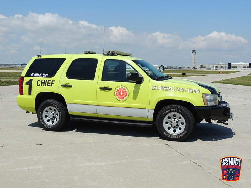 Milwaukee Mitchell International Airport ARFF Chief 1