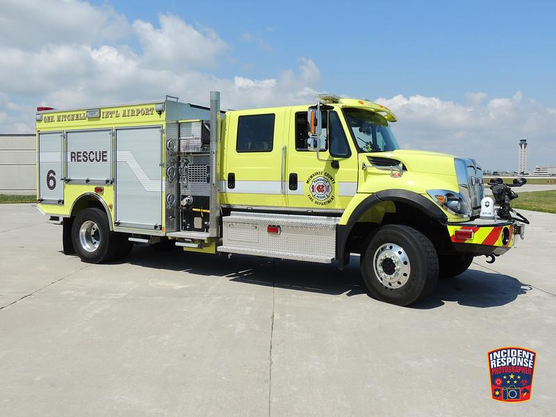 Milwaukee Mitchell International Airport ARFF Rescue 6