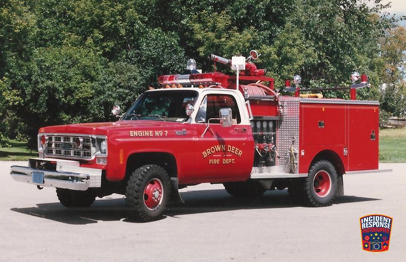 Brown Deer Fire Dept. Brush Truck 7