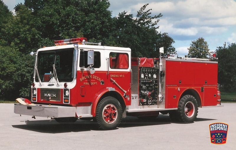 Brown Deer Fire Dept. Engine 5