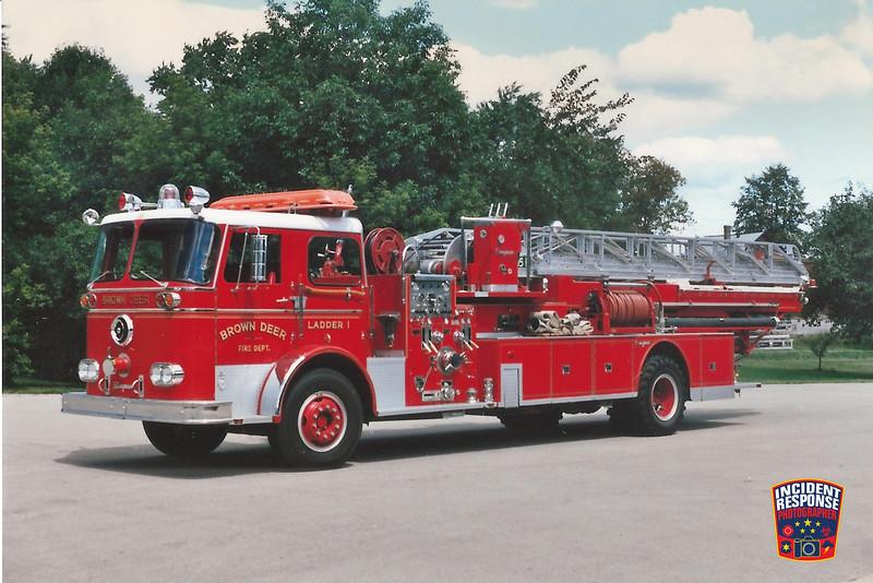 Brown Deer Fire Dept. Ladder Truck 1