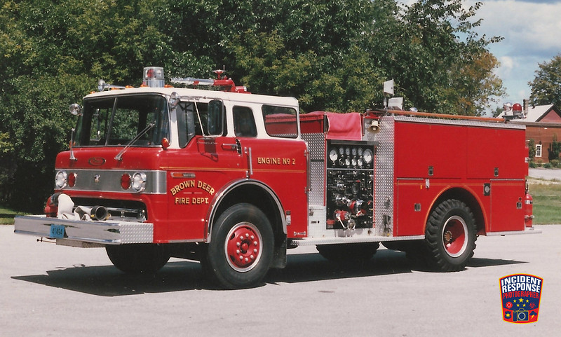 Brown Deer Fire Dept. Engine 2