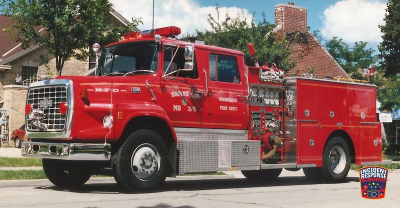 Milwaukee Fire Dept. Engine 36