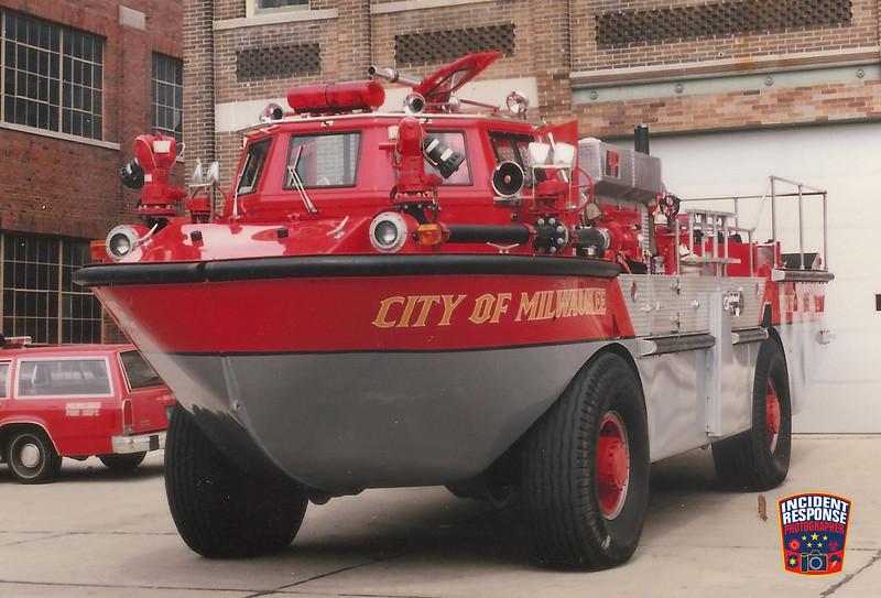 Milwaukee Fire Dept. Fire Boat 2