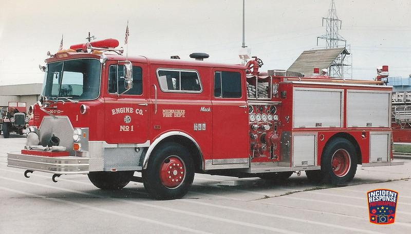 Milwaukee Fire Dept. Engine 1