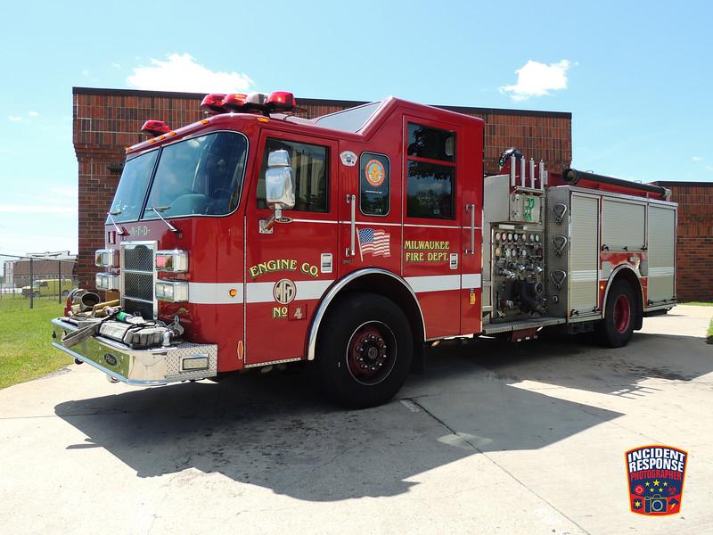 Milwaukee Fire Dept. Engine 4
