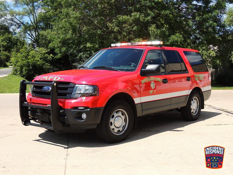 Milwaukee Fire Dept. Battalion Chief 7