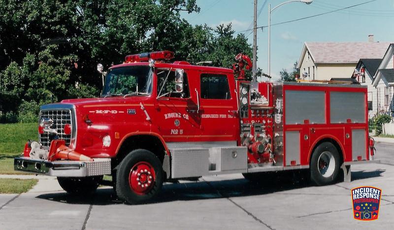 Milwaukee Fire Dept. Engine 5