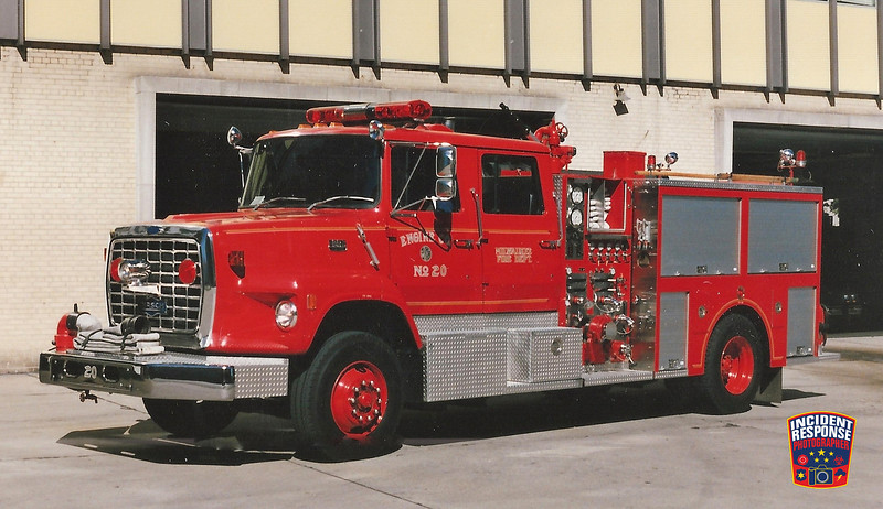 Milwaukee Fire Dept. Engine 20