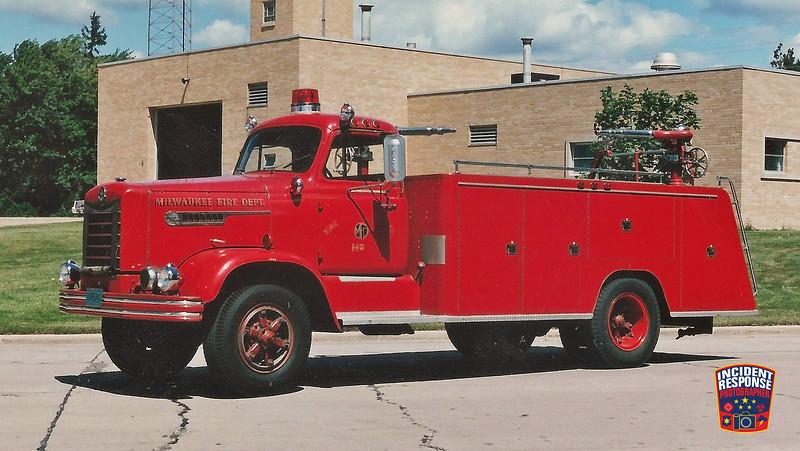 Milwaukee Fire Dept. High-Pressure & Hose Wagon 2