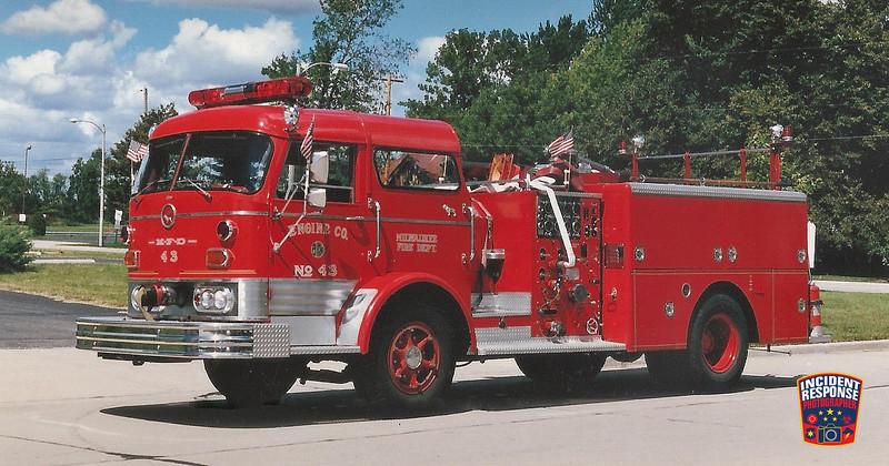 Milwaukee Fire Dept. Engine 43