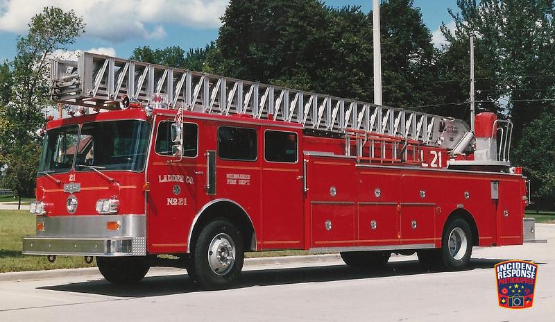 Milwaukee Fire Dept. Ladder Truck 21