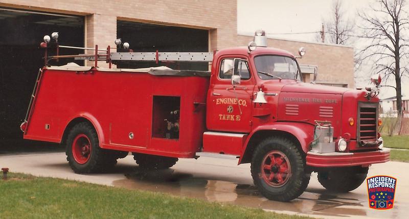 Milwaukee Fire Dept. Tanker 2