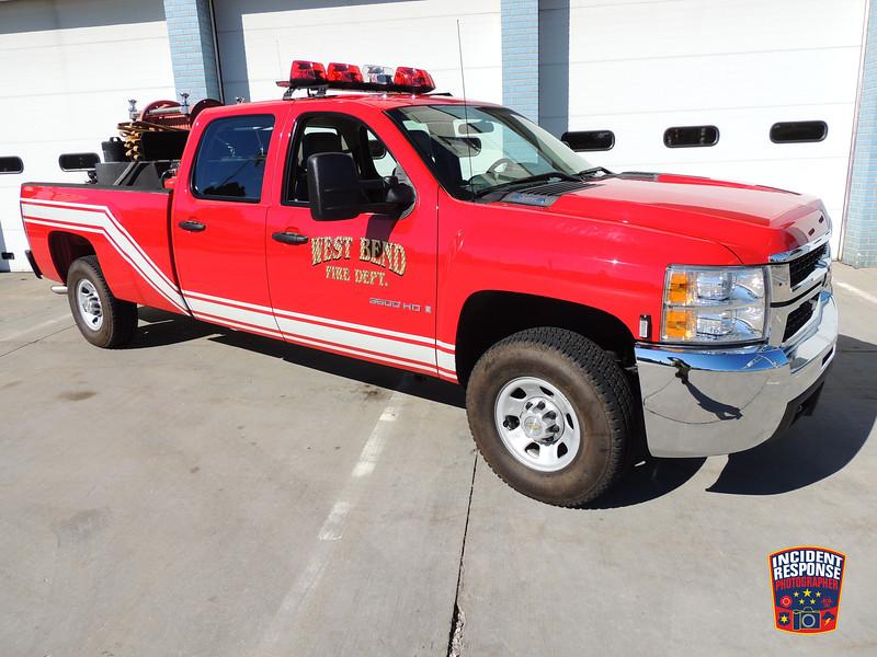 West Bend Fire Dept. Brush Truck