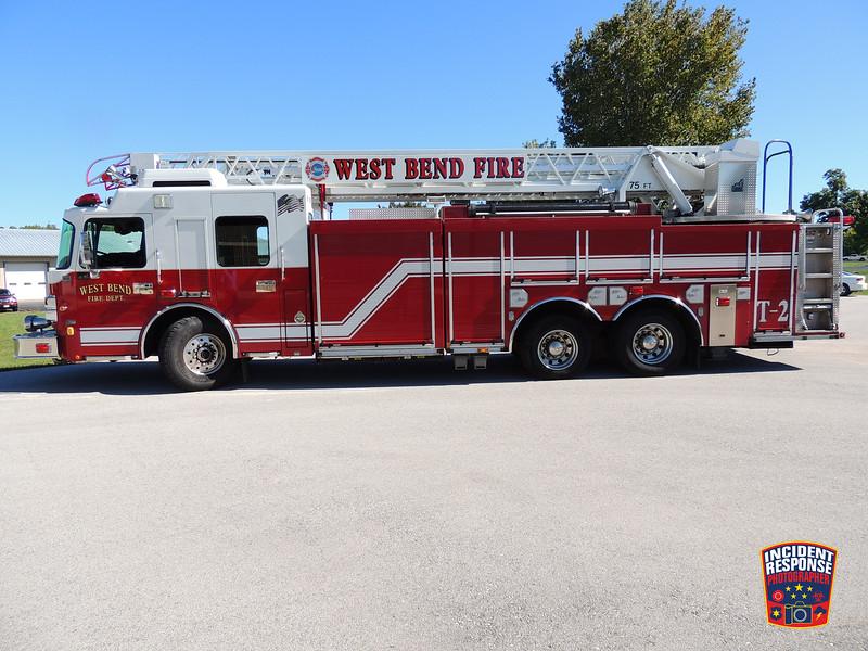 West Bend Fire Dept. Ladder Truck 2