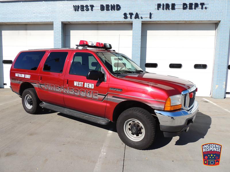 West Bend Fire Dept. Battalion Chief