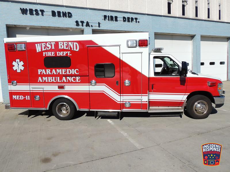 West Bend Fire Dept. Med 11