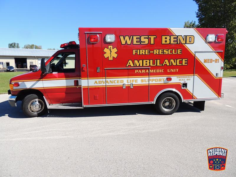 West Bend Fire Dept. Med 21