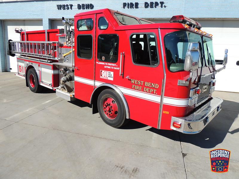 West Bend Fire Dept. Engine 1