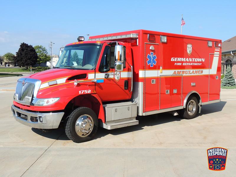 Germantown Fire Dept. Ambulance 1752 (reserve)