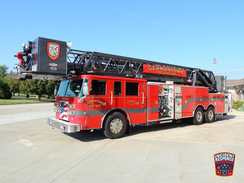 Germantown Fire Dept. Ladder Truck 1771